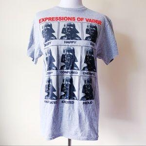 Star Wars Expressions of Darth Vader Shirt Disney